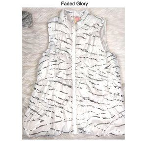 Faded Glory Vest Sz XL (14/16)